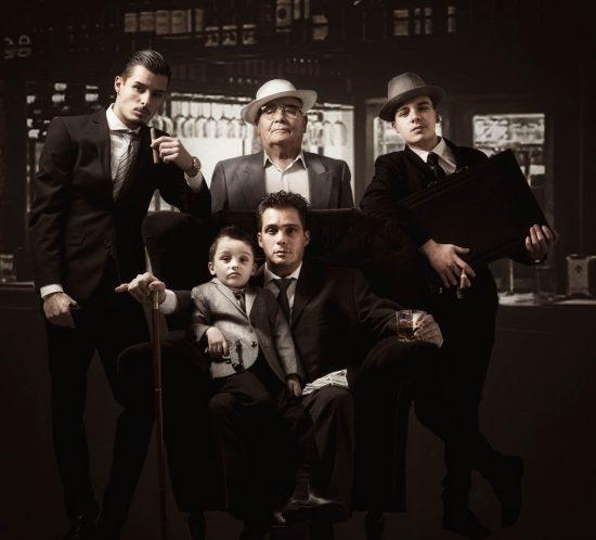 Familie fotoshoot in Italiaanse sfeer