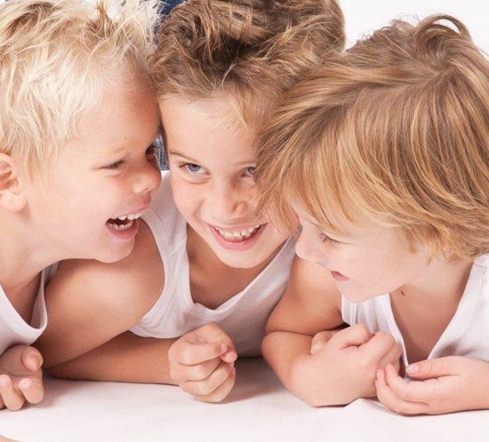 Kids Fotoshoot van 3 jongetjes