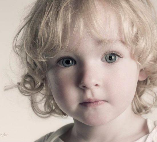 Kinderfotografie van meisje
