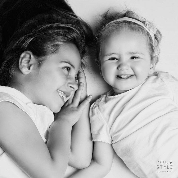 Kidsshoot foto van zusjes