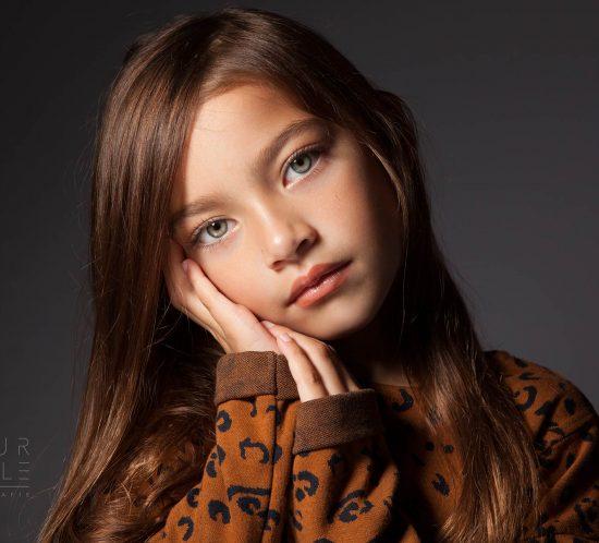 Prachtige Audrina: kinderfotografie