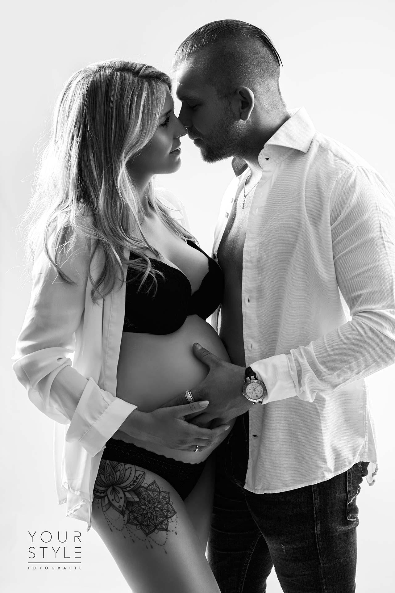 Zwangerschapsfotografie met partner