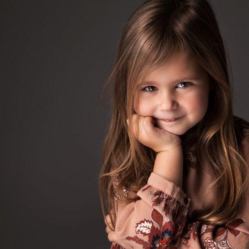 Fotoshoot kleuter meisje