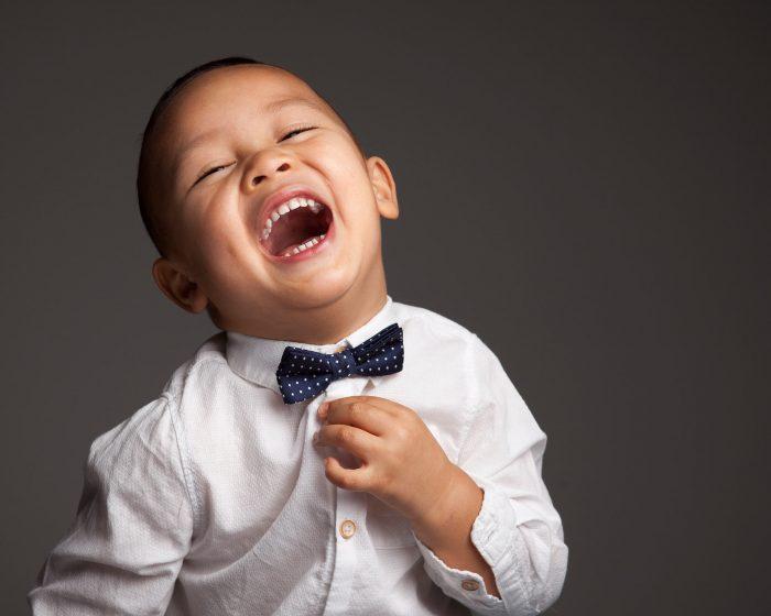 Kids fotoshoot vrolijk
