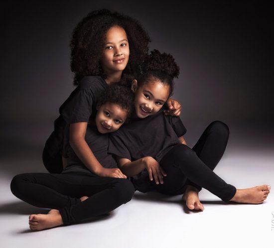 Familiefoto met kinderen