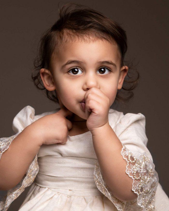 Portretfoto van een meisje