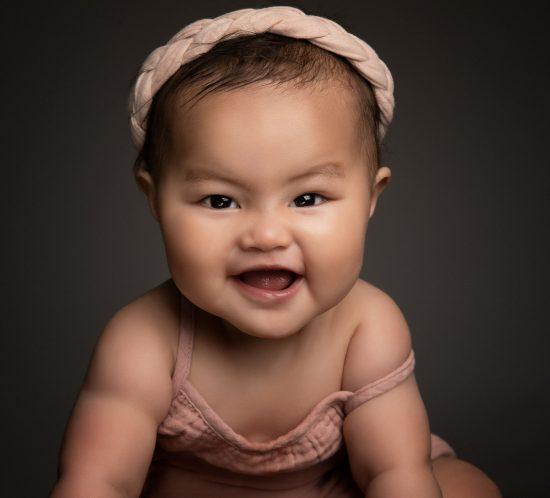 Baby fotografie 6 maand