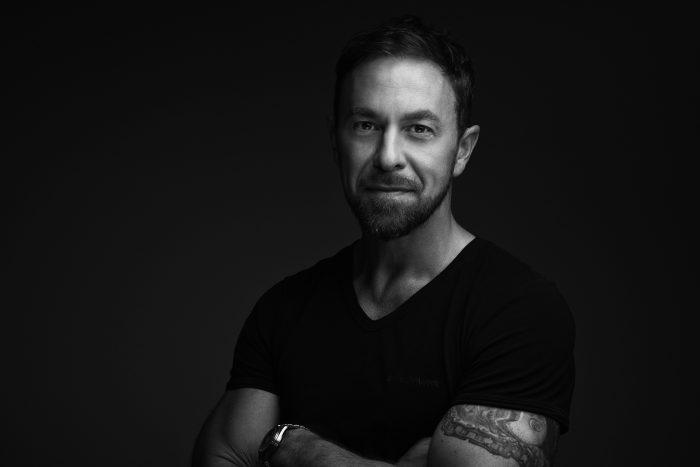 Portretfoto van een man