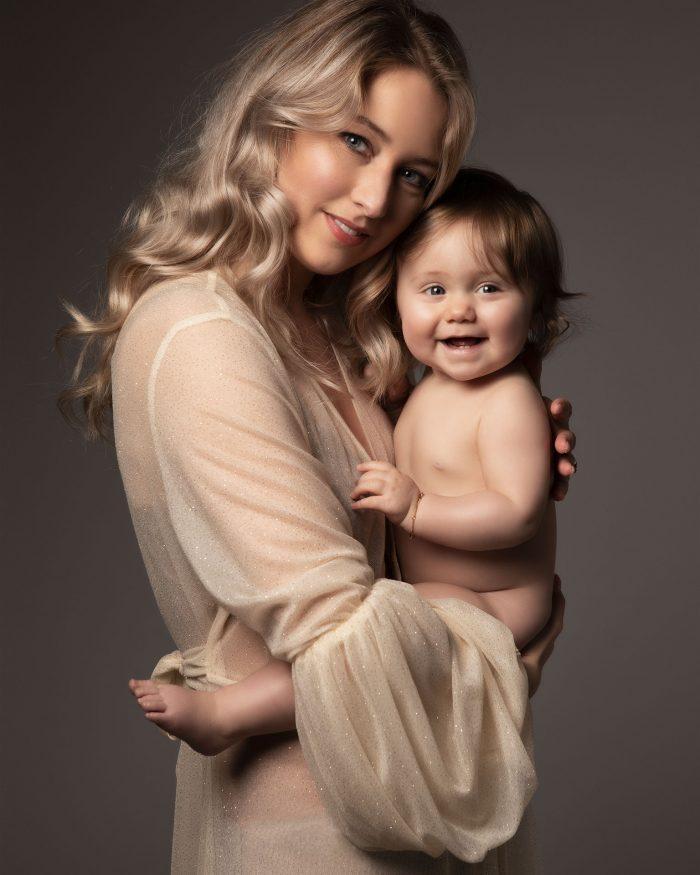 Fotoshoot gezin met baby
