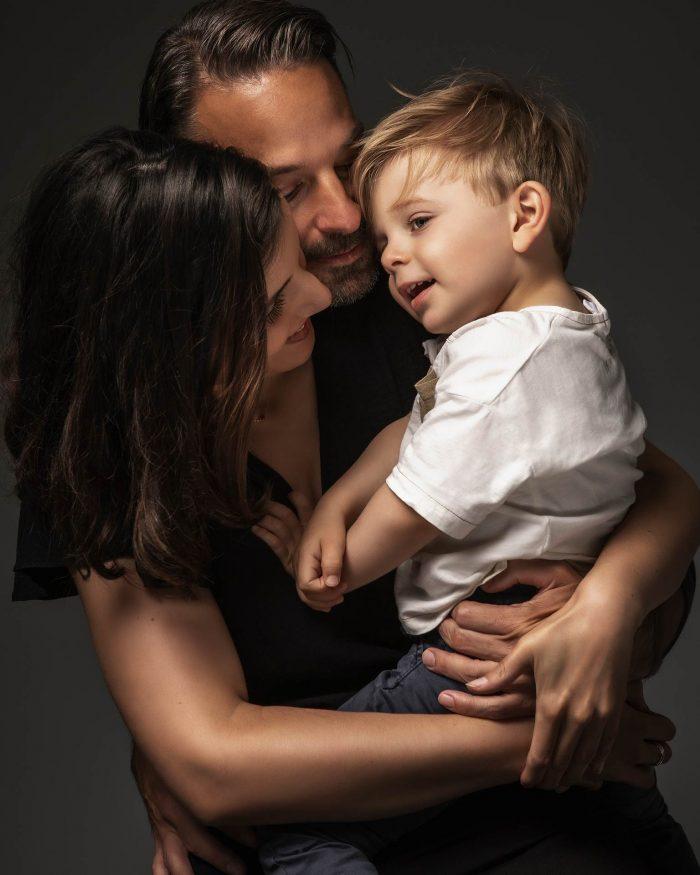fotoshoot met gezin